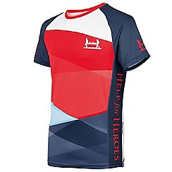 Help for Heroes - Men's tri-colour technical t-shirt