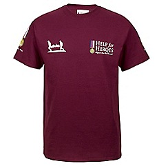 Help for Heroes - Maroon medal T-shirt