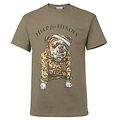 Help for Heroes - Sand Bulldog T-shirt