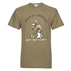 Help for Heroes - Cycling bear T-Shirt