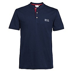 Help for Heroes - Navy button collar t-shirt