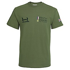 Help for Heroes - Green medal T-shirt