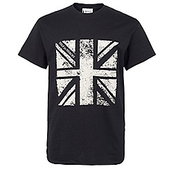 Help for Heroes - Black flag t-shirt