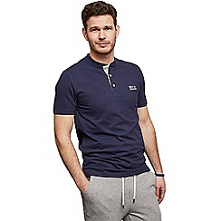 Help for Heroes - Navy Henley Downton t-shirt