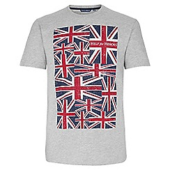 Help for Heroes - Trooping the colour grey-marl t-shirt