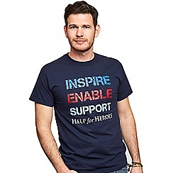 Help for Heroes - Inspire, enable, support t-shirt