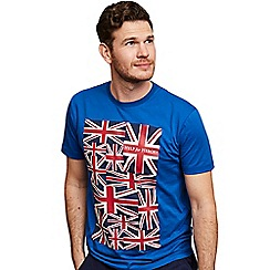 Help for Heroes - Trooping the colour cobalt blue t-shirt