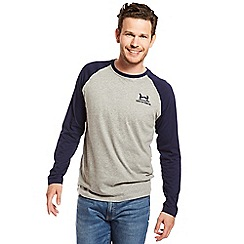 Help for Heroes - Navy raglan long sleeves t-shirt