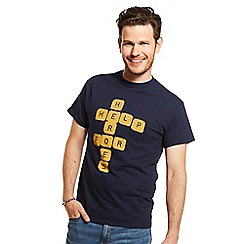 Help for Heroes - Navy scrabble t-shirt