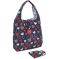 Help for Heroes - Foldaway tri-heart bag