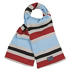 Help for Heroes - Soft grey scarf with trim