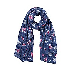 Help for Heroes - Heart and lace scarf