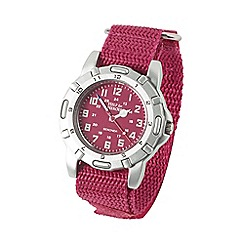 Help for Heroes - Women's Sekonda Pink Canvas Strap Watch