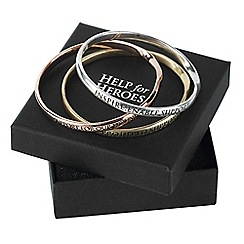 Help for Heroes - Set of 3 bangles