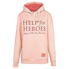 Help for Heroes - Cloud pink pull on hoody