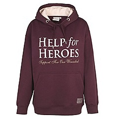 Help for Heroes - Plum pull on hoody