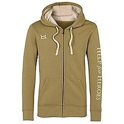 Help for Heroes - Fennel zipped hoody