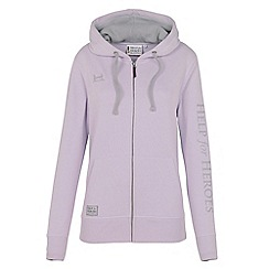 Help for Heroes - Lilac zipped hoody