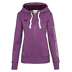 Help for Heroes - Blackcurrant zipped hoody