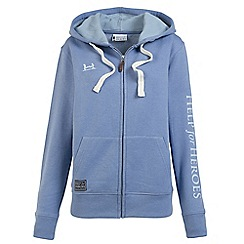 Help for Heroes - Lavender zipped hoody