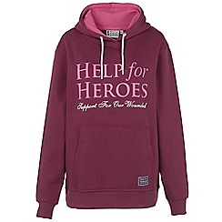 Help for Heroes - Damson Pull on Hoody