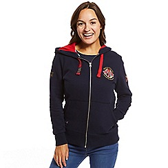 Help for Heroes - Navy 10th anniversary zipped hoody