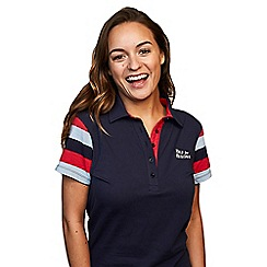 Help for Heroes - Women's tri-stripe polo shirt