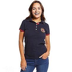 Help for Heroes - Navy 10th anniversary polo shirt