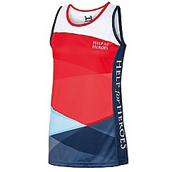 Help for Heroes - Women's tri-colour running vest