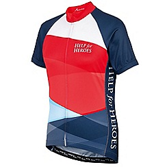 Help for Heroes - Women's tri-colour cycling shirt