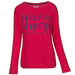 Help for Heroes - Rose long sleeve boyfriend T-shirt