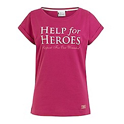 Help for Heroes - Rhubarb boyfriend T-shirt