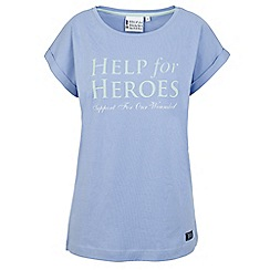 Help for Heroes - Lavender boyfriend t-shirt