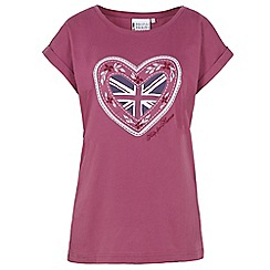 Help for Heroes - Damson Heart T-Shirt
