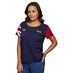 Help for Heroes - Women's classic union jack sleeve t-shirt