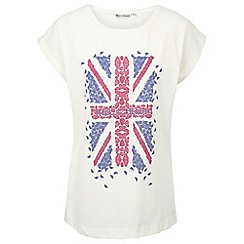 Help for Heroes - Women's boyfriend butterfly t-shirt