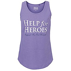Help for Heroes - Purple slouch venture vest