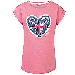 Help for Heroes - Cherry blossom heart t-shirt