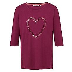 Help for Heroes - Elizabeth heart t-shirt