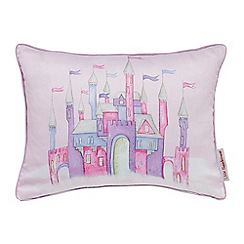 Little Sanderson - Kids' pink 'Fairyland' cushion
