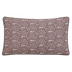 Fable - Light purple linen 'Albizia' cushion