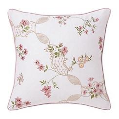 Sanderson - Pink 'Anna Maria' cushion