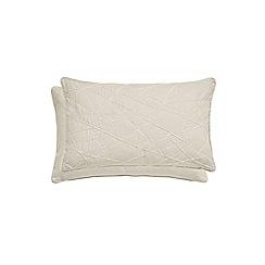 Harlequin - Natural cotton 'Asuka' cushion