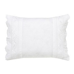 Helena Springfield - White 'Avella' cushion