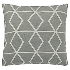 Scion - grey 'Axis' cushion