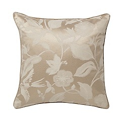 Sanderson - Natural 'Bird Blossom' cushion