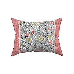 Helena Springfield - Light blue polycotton 'Belle' cushion