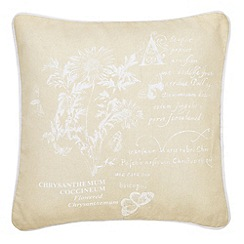 Helena Springfield - Natural 'Bloom' cushion