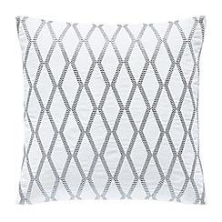 Hotel - Silver 'Belvedere' cushion