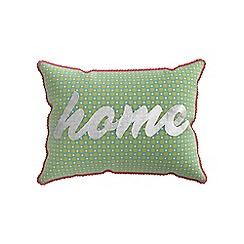 Helena Springfield - Multicoloured polycotton 'Bonnie' cushion